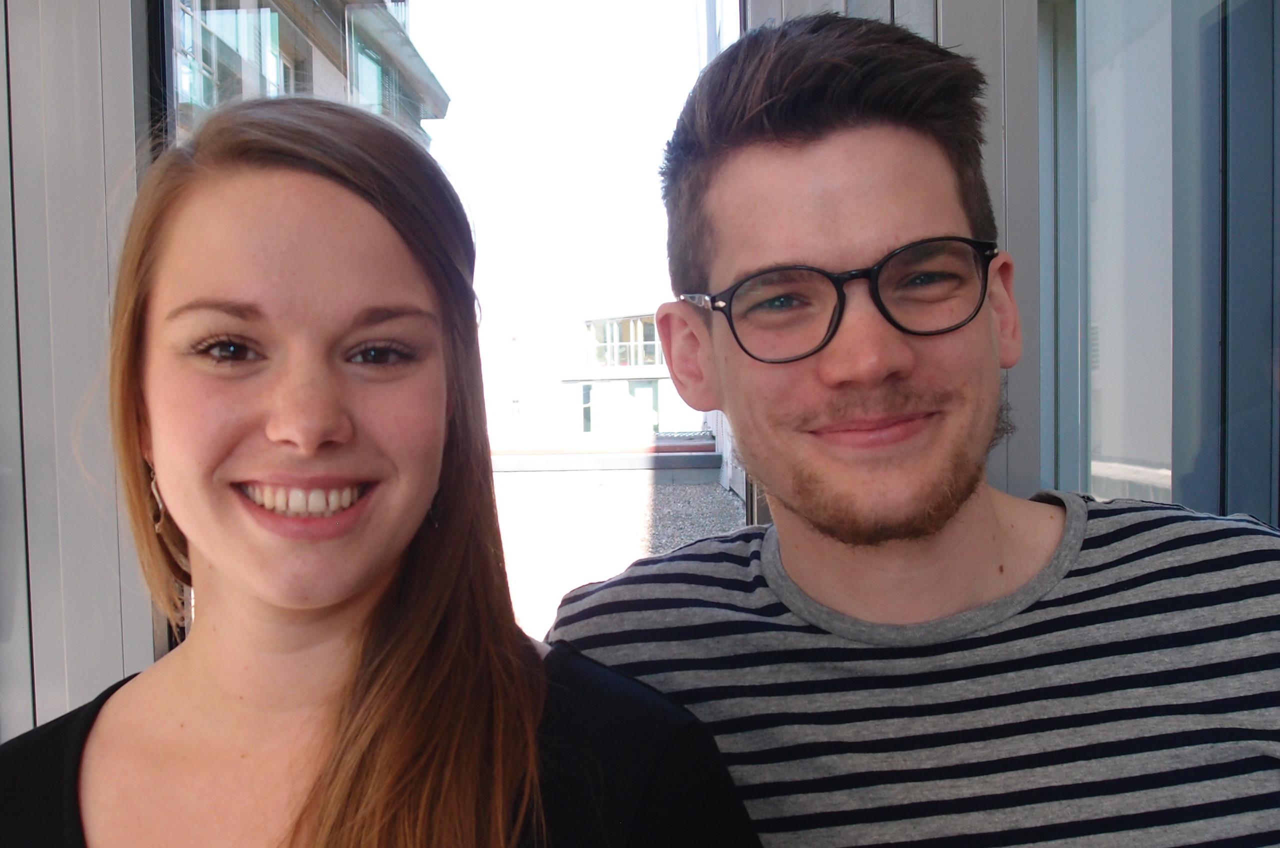 Christina Gansch und Tim Jentzen