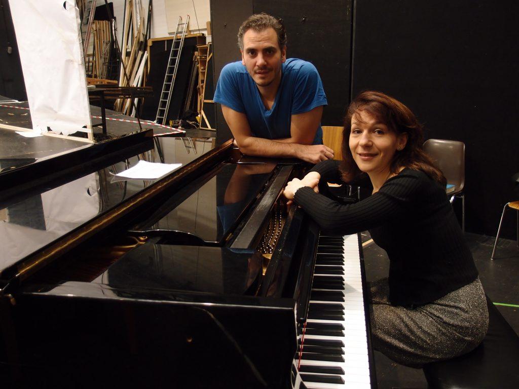 links: Anna Kravtsova, rechts: Wilhelm Schwinghammer