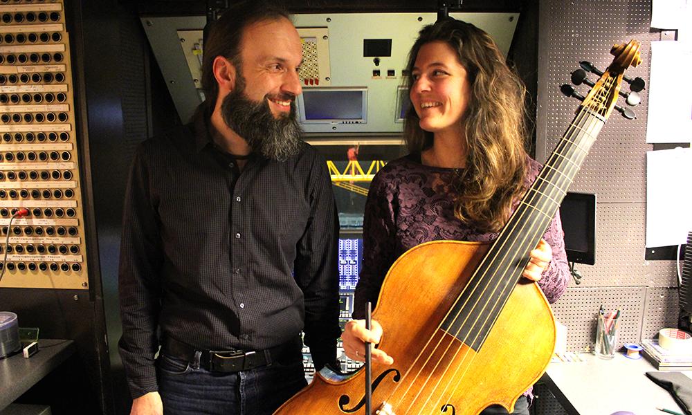 Cornelius Seydel und Frauke Hess