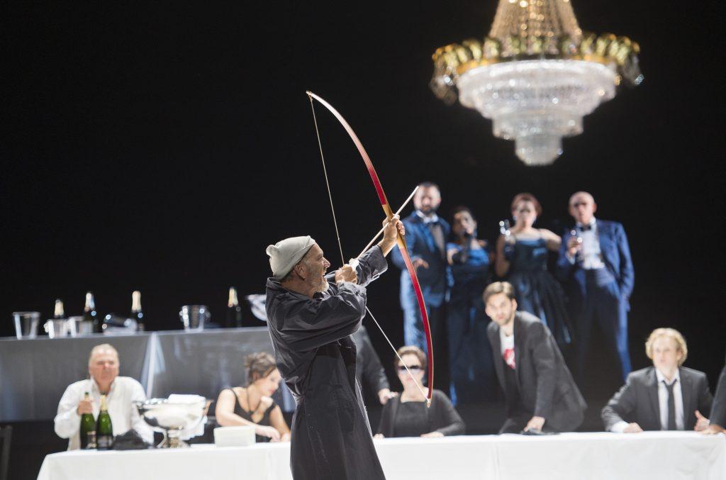 "Kurt Streit als Odysseus in ""Il Ritorno d'Ulisse in Patria"""