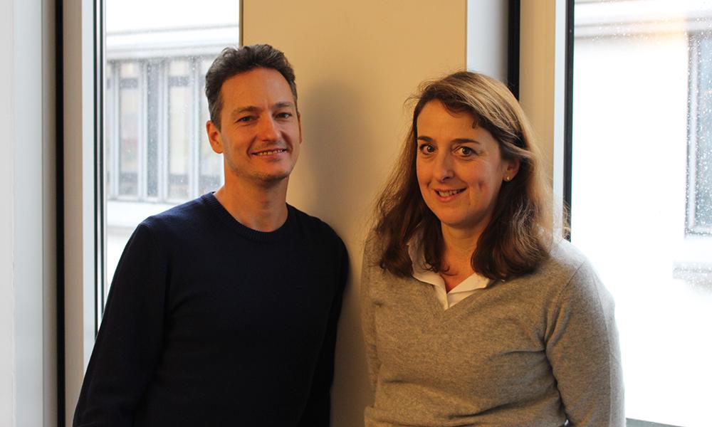Fabio Trümpy und Annette Weber