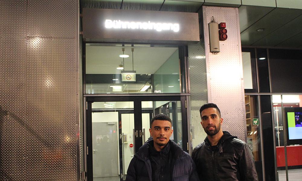 Projektchor Nabucco Shiragha und Elsayed