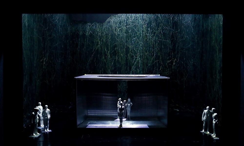 Bühnenbildmodell von Christian Schmidt